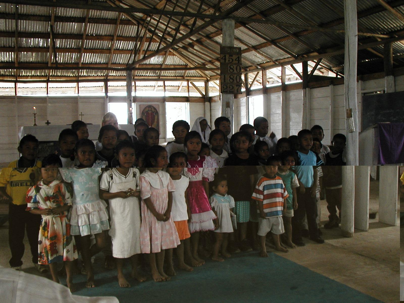 Sunday School children in Jawalla village