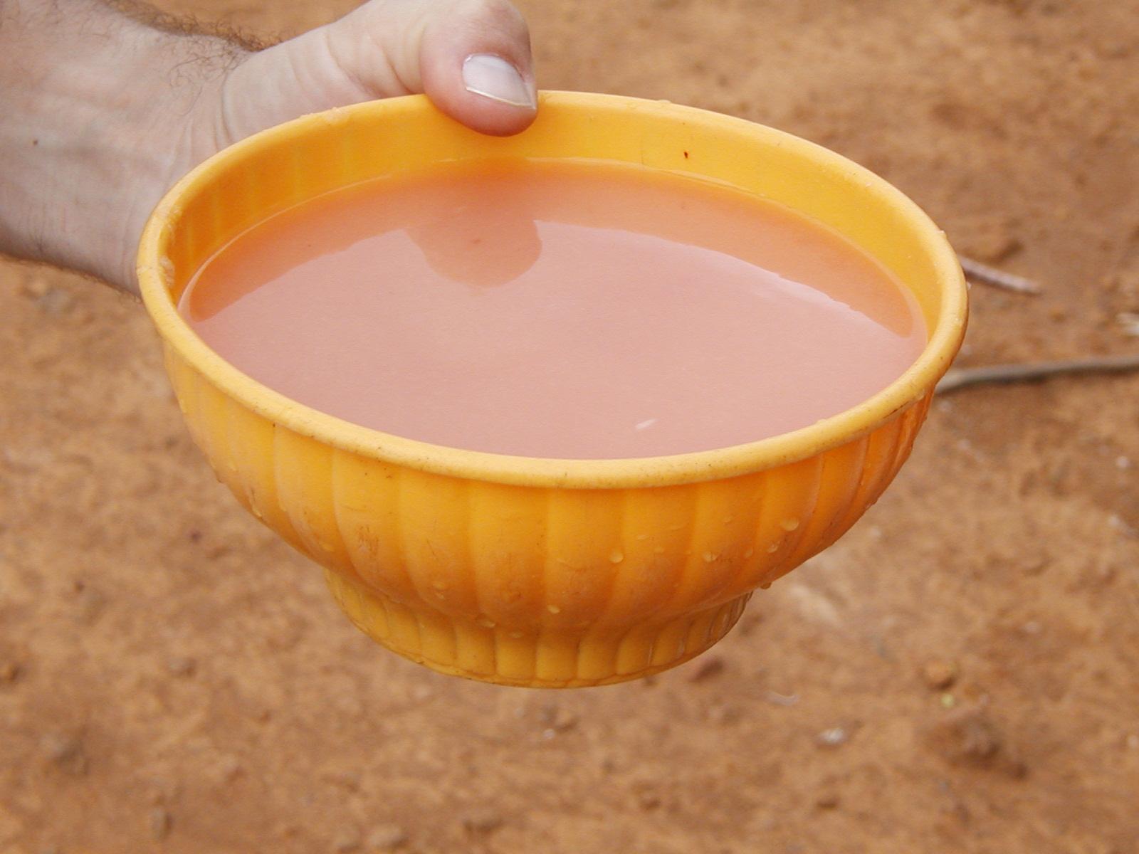 cassava drink, called kasiri