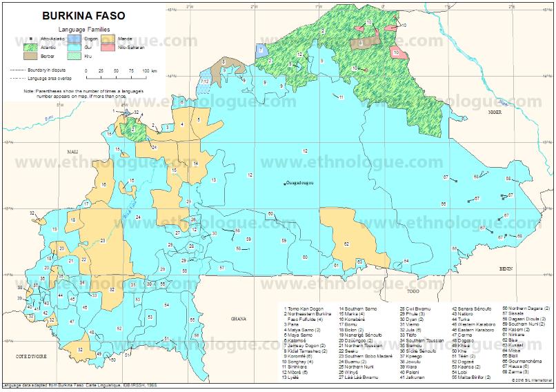 Bissa Barka Burkina Ethnologue