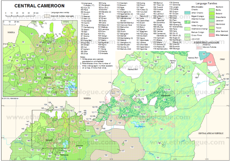 MapOfCameroon