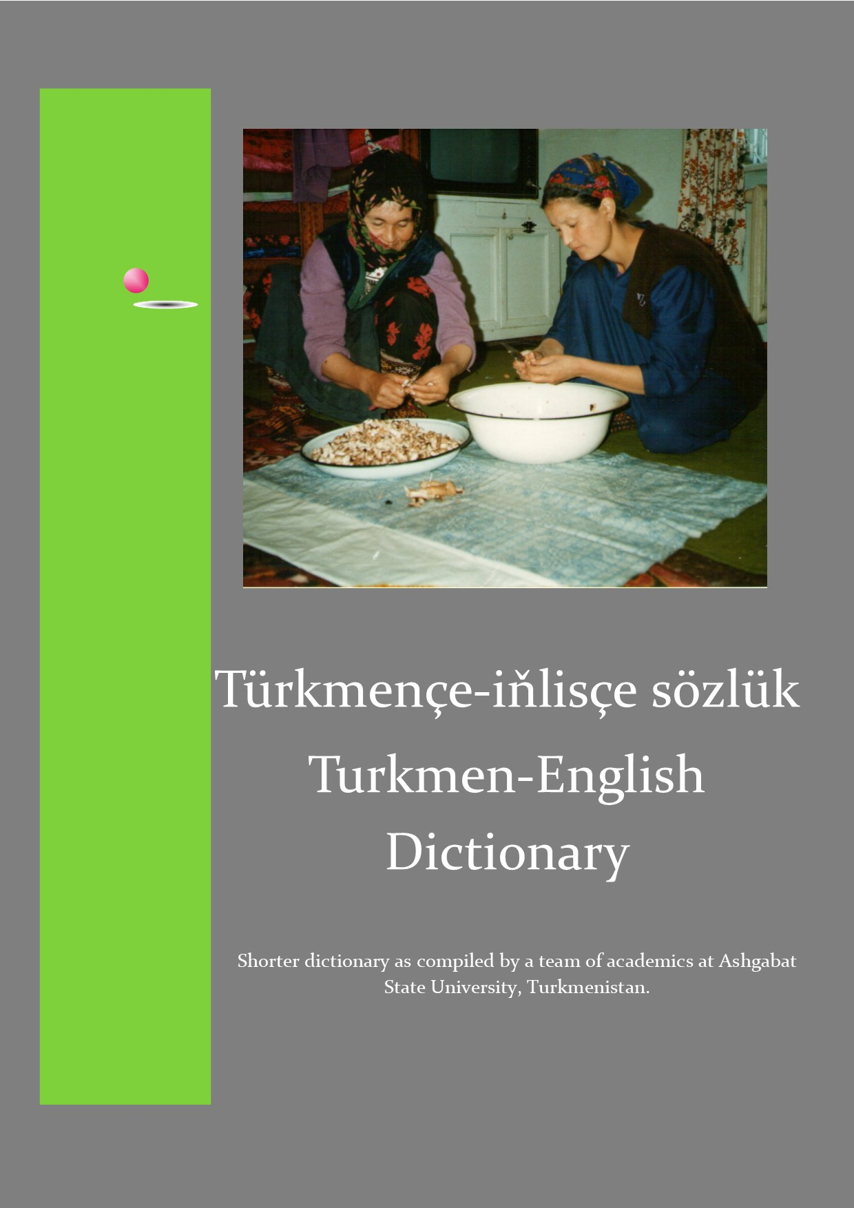 front page of dictionary