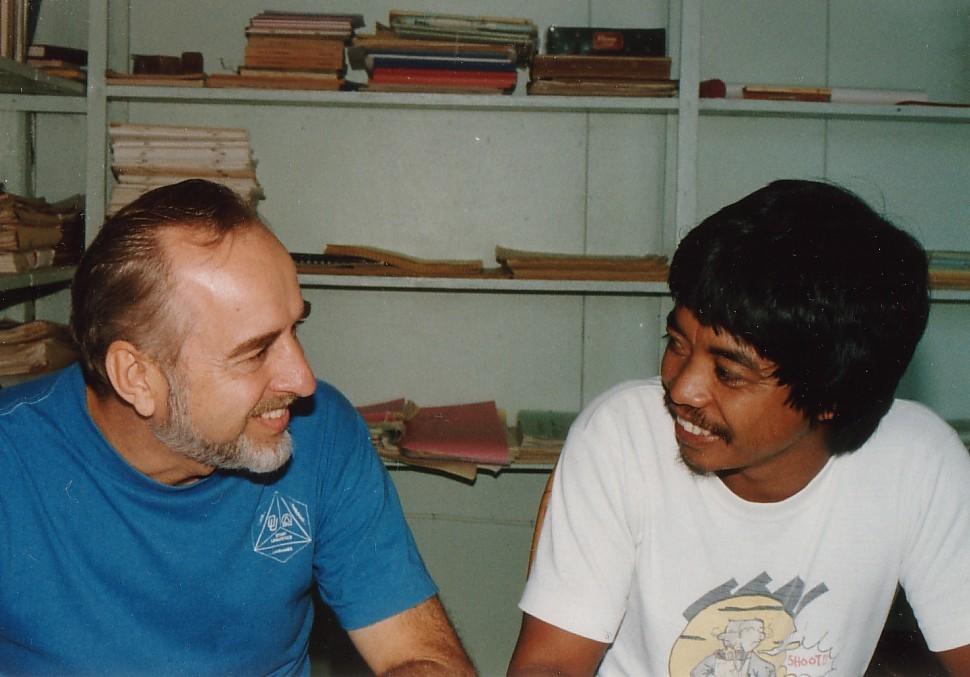 Dick Hohulin and Rogelio Gobway