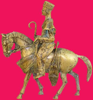Bronze chevalier