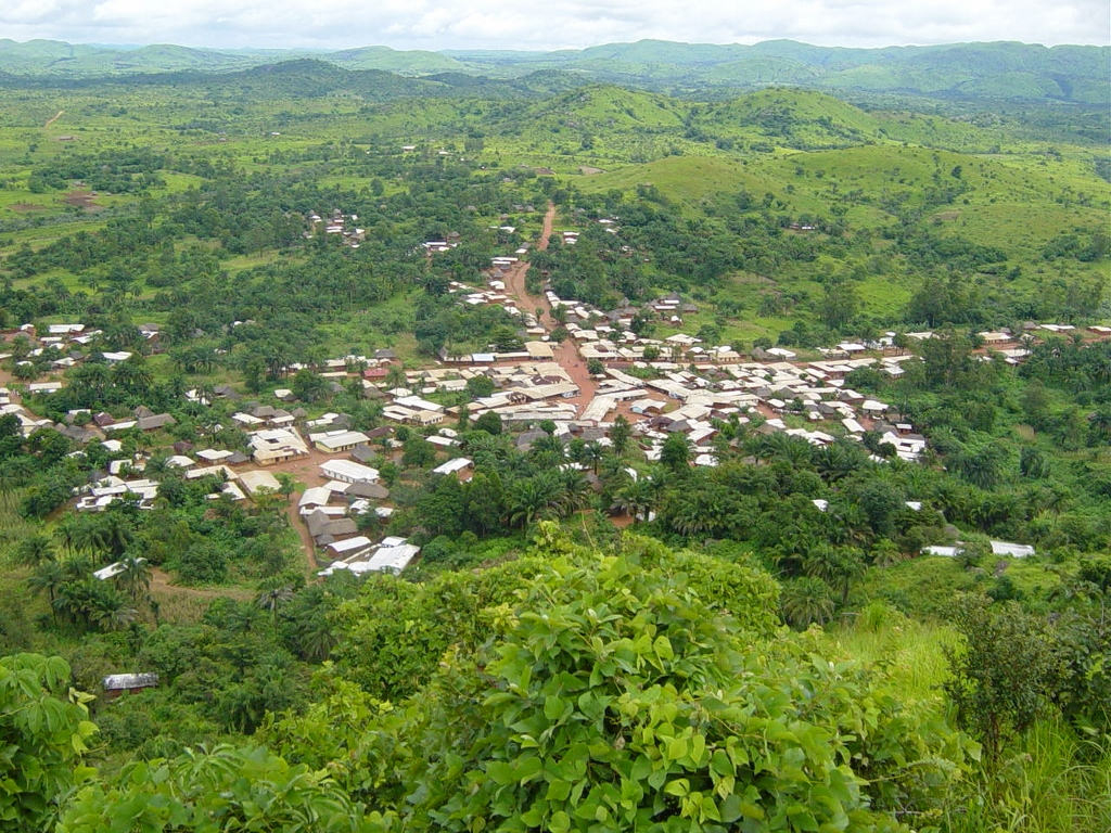 Aerial view of Dumbu